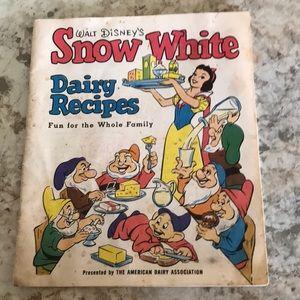 1955 Walt Disney Dairy Recipes paperback